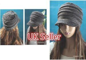 Unisex Women's Men's Winter Knitted Stretch Hat Cap HAT13