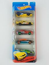Hot Wheels Track Aces Diecast Toy Vehicles 5-Pack 2014