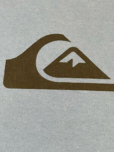 Quiksilver Men's BLUE Long Sleeve T-Shirt Size XL - EXTRA LARGE - NWOT
