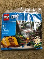 LEGO CITY 40177 Jungle Explorer Kit With Tent & Minifigure 40pcs Polybag New