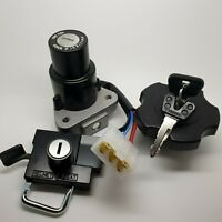 Genuine Yamaha RD350LC RD250LC Ignition Switch, Lock Set, Seat Lock, Fuel Cap