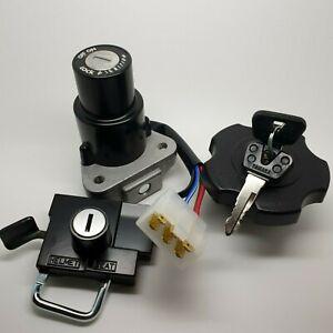 Genuine Yamaha RD350LC RD250LC Ignition Switch, Lock Set, Seat Lock, Fuel Cap