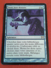 DONS NON-DONNES GIFTS UNGIVEN GUERRIERS DE KAMIGAWA RARE CARTE MAGIC MTG VF
