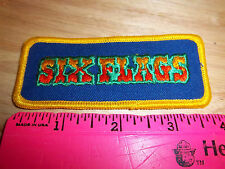 Six Flag colorful Embroidered patch, fun collectible patch