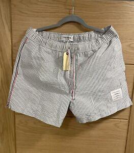 Genuine Thom Browne Swimming Shorts Seersucker Size 2