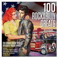 Various Artists - 100 Rockabilly Greats / Various [New CD] UK - Import