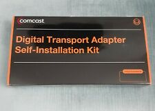 NEW OPEN BOX COMCAST  DIGITAL TRANSPORT ADAPTER  SELF INSTALLATION KIT