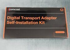 NEW OPEN BOX COMCAST  DIGITAL TRANSPORT ADAPTER  SELF INSTALLATION KIT