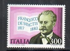 ITALY MNH 1983 SG1815 DEATH CENTENARY OF FRANCESCO DE SANCTIS