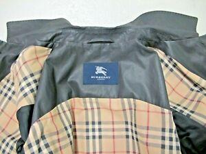 BURBERRY Kurz-Mantel schwarz, Gr. 56, Typ Car Coat