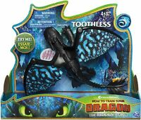 Dreamworks Dragons Toothless Deluxe Dragon with Lights & Sounds Kids Aged 4 & Up