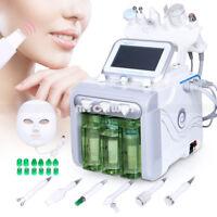 Facial Hydro Microdermabrasion Machine LED Light Face Mask Ultrasonic RF Lifting
