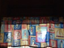 Nautical Window Valances Handcrafted Cotton FREE SHIPPING