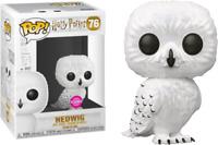 NEW Harry Potter - HEDWIG Flocked Exclusive Pop! VINYL + POP PROTECTOR