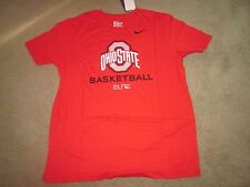 OHIO STATE BUCKEYES Basketball Nike Elite Tee T-shirt -SMALL - NWT Retail $26