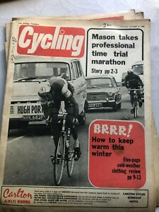Cycling & Sporting Cyclist MAGAZINE October 18 1969 #V045