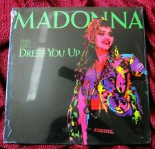 MADONNA SEALED DRESS YOU UP THE VIRGIN TOUR PICTURE SLEEVE VINYL LP PROMO RECORD