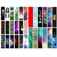 Skateboard Grip Tape Graphic Skateboard Sandpaper Longboard Deck Griptapes Paper
