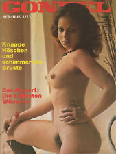 GONDEL Magazin Nr 308 November 1974 deutsche Edition, girls naked nude nackt Akt