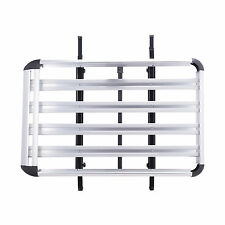 Universal Car Roof Cargo Carrier Roof Rack Luggage Basket Top w/Crossbars
