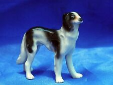 Antique Germany Porcelain  Russian wolfhound sighthound Borzoi dog *