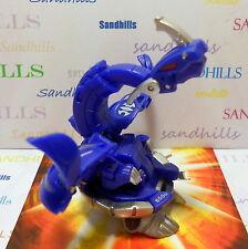 Bakugan Iron Dragonoid Blue Aquos Mechtanium Surge DNA 850G & cards