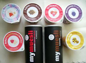 "Müsli & Porridge von ""MyMuesli""  8teilig  +neu in OVP+"