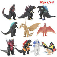 10pcs Godzilla King of the Monsters Action Figure Toy PVC Doll for Kids Gift