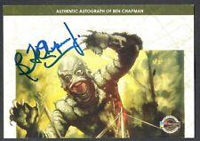 Movie Posters 2007 Sci-Fi & Horror Breygent Autograph Card #Bcac Ben Chapman