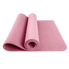 4mm TPE Yoga Mat Gymnastic Workout Non-Slip Exercise Physio Pilates