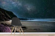 New Listing3D Sky Beach Landscape Wallpaper Wall Murals Removable Wallpaper 251