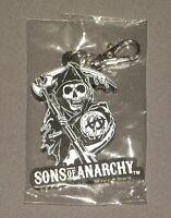 Limited Edition Sons of Anarchy Keyring Keychain Grim Reaper Logo NEW MEZCO