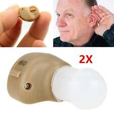2pcs Adjustable Invisible Best Sound Amplifier In Ear Tone The Old Hearing Aids