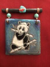 Jeremy Diller- Signed Dreamcatcher Tile, Panda New in Box