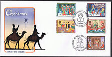 Christmas 1986 First Day Cover -  SG1341 to SG1346 Hereford Cancel