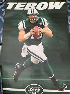 New York Jets Tim Tebow Poster Trends 22x34 Brand New  , Tubed