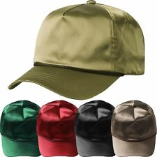 f1f01cba124 Satin Solid Accent Baseball Cap Dad Hat