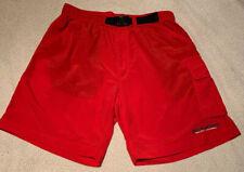 Vintage Polo Sport Red Swim Trunk With Draw Belt Men's Medium