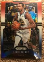 2019-20 Panini Prizm Kevin Durant Red White Blue Prizm #210 Nets