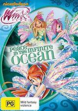 Winx Club - Peace In The Infinite Ocean DVD video in case Nickelodeon pg PAL R 4