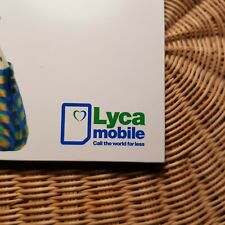 Sim Card Ukraine Lycamobile - 800 min  + 12 Gb internet + 40 International min