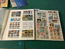 L 370 UNCHECKED World stamp collection on 12 page / 16 side over A4 stock pages