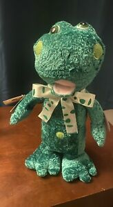 Chantilly Lane Speckles the Frog Sing Five Little Frogs Tags Attached See Video!