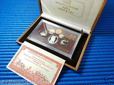 1984 Singapore Proof Coin Set Uncirculated ($1 Stylised Lion Silver Proof Coin)