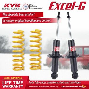 Rear KYB EXCEL-G Shock Absorbers STD King Springs for SUBARU Liberty BL5 BL9