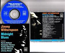 JIMMY WITHERSPOON- Midnight Blues Fresh Sound CD 1992 Harry Edison/Teddy Edwards