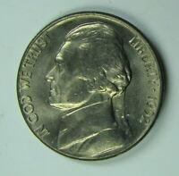 """With Mint /""""Luster/"""" 1952-S Jefferson Nickel Gem BU"""
