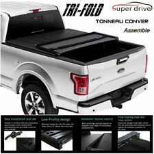 Fits 2015-2019 Ford F-150 Assemble Soft Lock Tri-Fold Tonneau Cover 6.5ft Bed