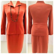 KASPER Pink Two Piece Tailored Women Skirt Suit. Size 10P Excellent Condition!!
