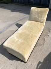 Chaise Longue Fabric With Storage